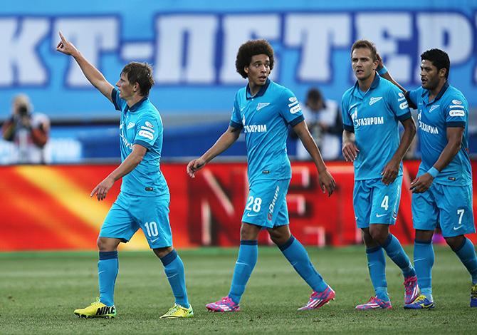 Зенит, премьер-лига Россия, Динамо Москва