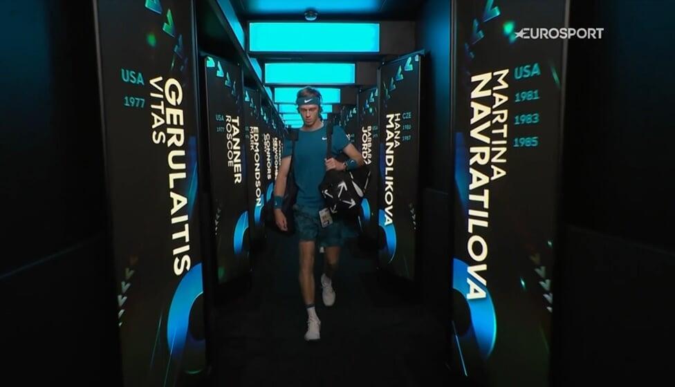 Медведев прошел Рублева в 1/4 Australian Open. Лучше выдержал жару и выиграл все ключевые моменты
