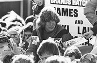 Джеймс Хант, Формула-1, Ники Лауда