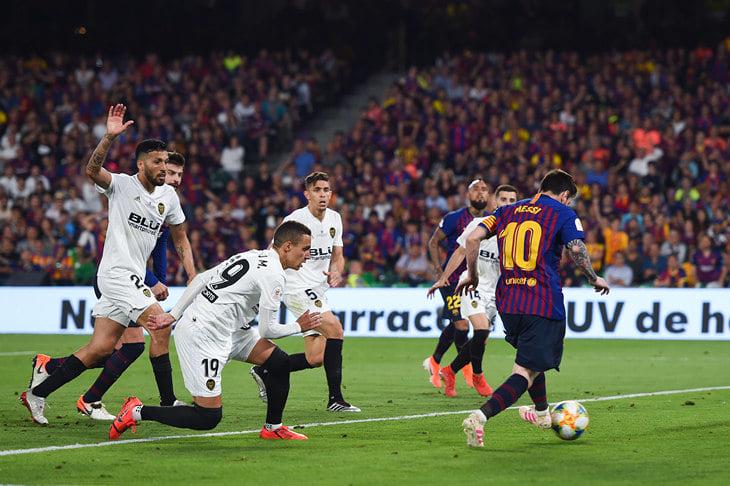 «Барса» проиграла финал Кубка Испании. Только факты