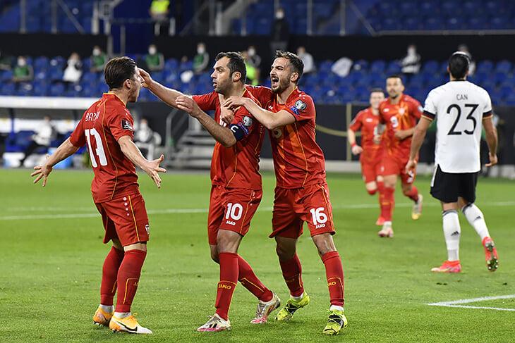 Германия проиграла в отборе ЧМ впервые с 2001-го –Северной Македонии дома! Вышло эпично: Вернер не забил в пустые, Пандев показал, как надо