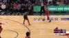 Chris Boucher rises to block the shot