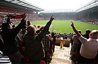 Манчестер Юнайтед, Ливерпуль, Вест Хэм, Манчестер Сити, премьер-лига Англия, болельщики, Лидс, Кристал Пэлас, Норвич Сити