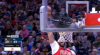 Anthony Davis with one of the day's best dunks
