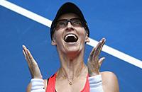 Мирьяна Лючич-Барони, Australian Open, WTA