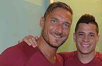 Тотти начал подготовку к 25-му сезону в составе «Ромы»