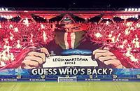 Легия, болельщики, высшая лига Польша, Лига чемпионов, фото