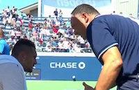 Судья хотел помочь теннисисту на US Open. Возможно, не стоило