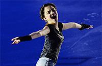 Евгения Медведева, женское катание, Trophée de France