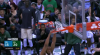 Jabari Parker flies in for the alley-oop slam