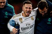 Челси, Реал Мадрид, травмы, Эден Азар