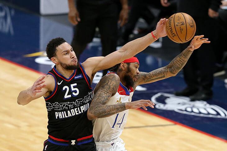Бен Симмонс называет себя лучшим защитником НБА. На этот раз он прав