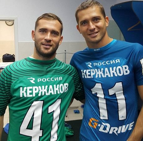 Братья Кержаковы впервый раз сыграли совместно за«Зенит»