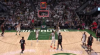 Pascal Siakam hits the shot with time ticking down