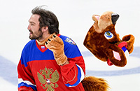 Лада, СКА, Евгений Малкин, Александр Овечкин, фото, НХЛ, КХЛ, Евгений Кузнецов, маскот