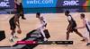 Jakob Poeltl Blocks in San Antonio Spurs vs. Houston Rockets