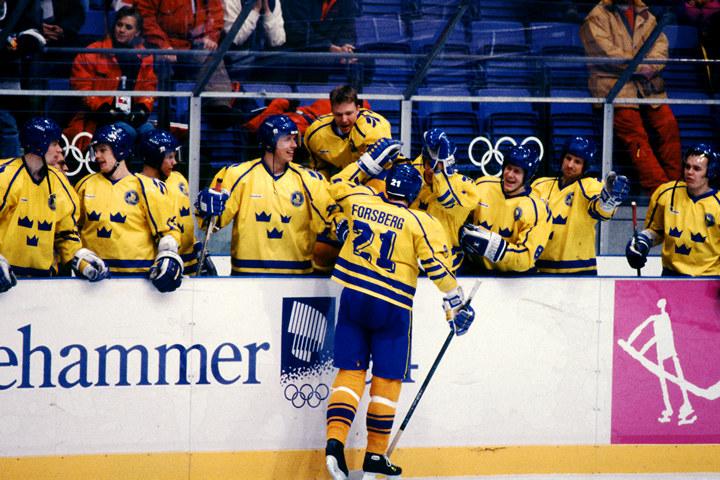сборная России, Лиллехаммер-1994, Гэри Беттмэн, НХЛ, сборная Канады, олимпийский хоккейный турнир, Пол Кария, сборная Словакии, Гленн Андерсон, Петер Штястны