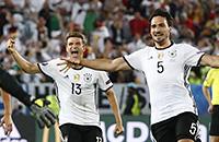 сборная Германии, сборная Италии, Евро-2016