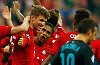 Арсенал, видео, Томас Мюллер, Роберт Левандовски, Давид Алаба, Лига чемпионов УЕФА, Бавария