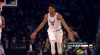 Stephen Curry shows off the vision for the slick assist