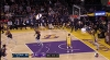 Rudy Gobert throws it down vs. the Lakers