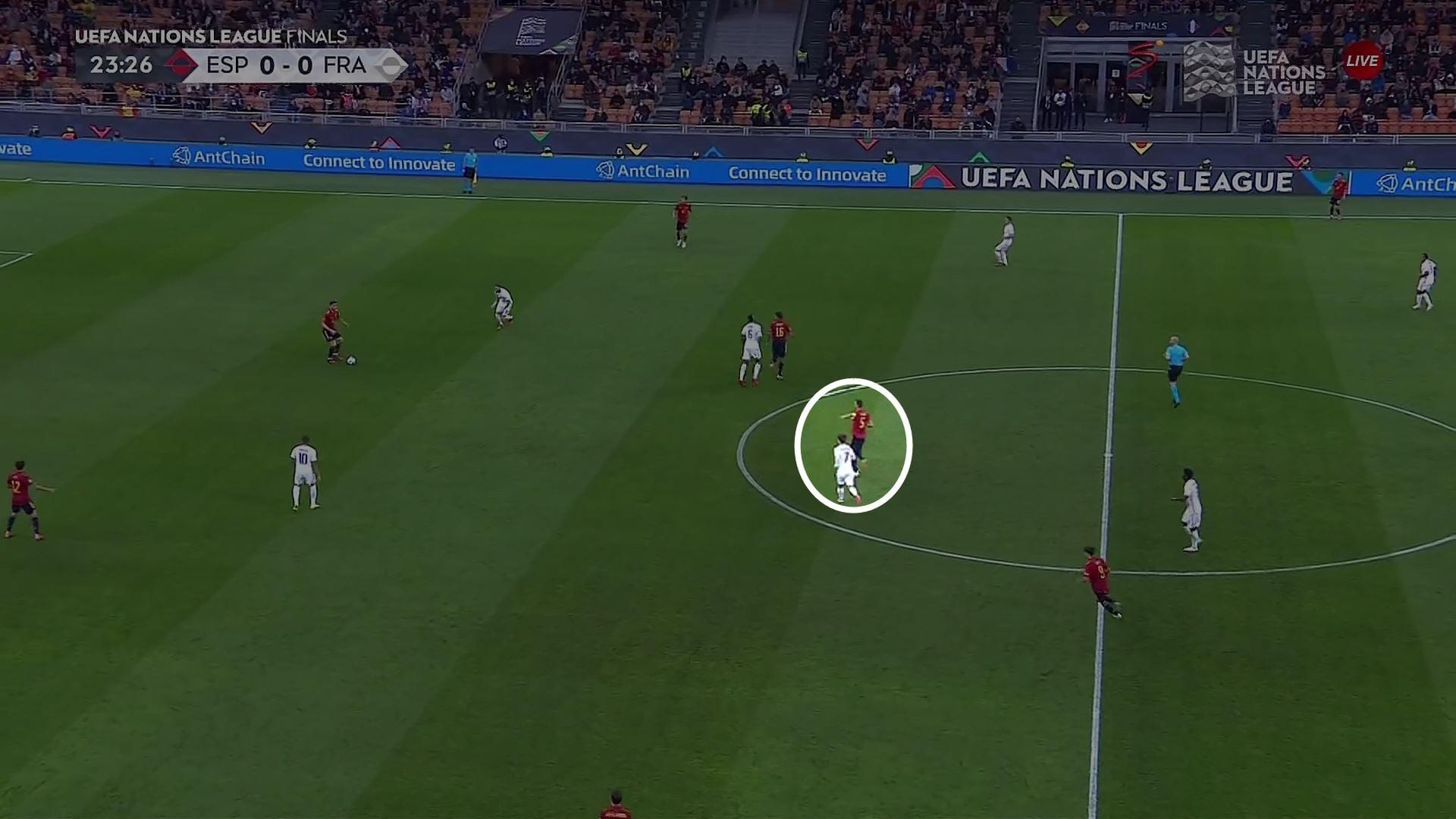 Главная дуэль финала Лиги наций – Гризманн против Бускетса. А самые большие проблемы Испания получила от треугольника Тео-Мбаппе-Бензема