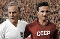 Мы рассказали про англичанина, который делает черно-белые фотографии цветными. Теперь он колоризировал фото сборной СССР