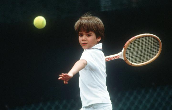 ITF, юниоры, Андре Агасси, Роджер Федерер