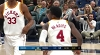 Victor Oladipo rises up and throws it down