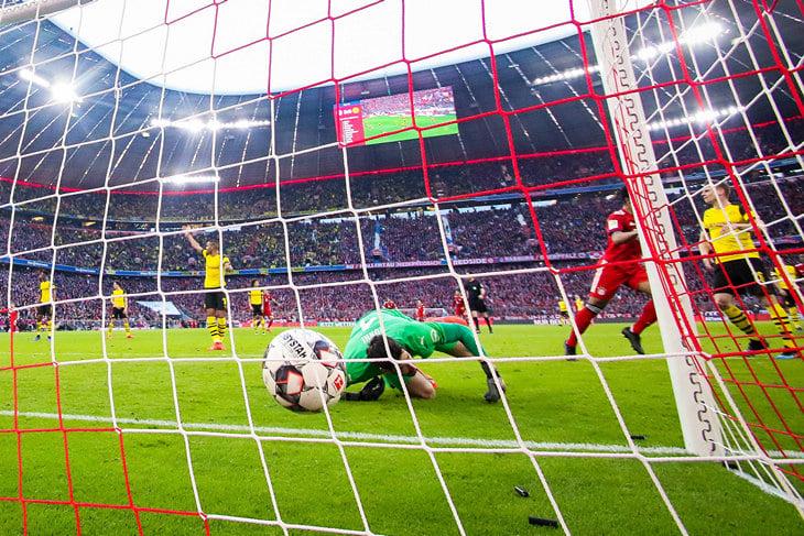 Бавария боруссия дортмунд протокол
