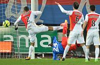 Монако, лига 1 Франция, видео, Кан, Кристиан Куаку Яо