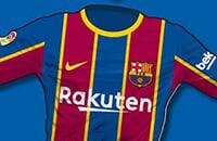 Барселона, Ла Лига, Nike, игровая форма, стиль