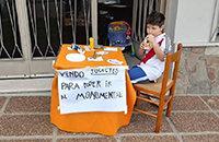Шестилетний фанат «Ривера» продавал игрушки, чтобы поехать на финал Кубка Либертадорес