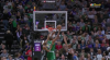 Al Horford goes up to get it and finishes the oop