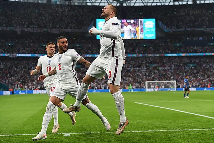 Люк Шоу забил в финале – и это чертовски символично. Он просто прекрасен на Евро