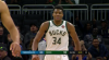 Giannis Antetokounmpo with the big dunk