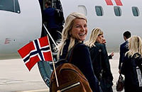 сборная Норвегии по футболу, Мартин Эдегор, Ада Хегерберг