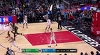 Kyrie Irving sets up the nice finish