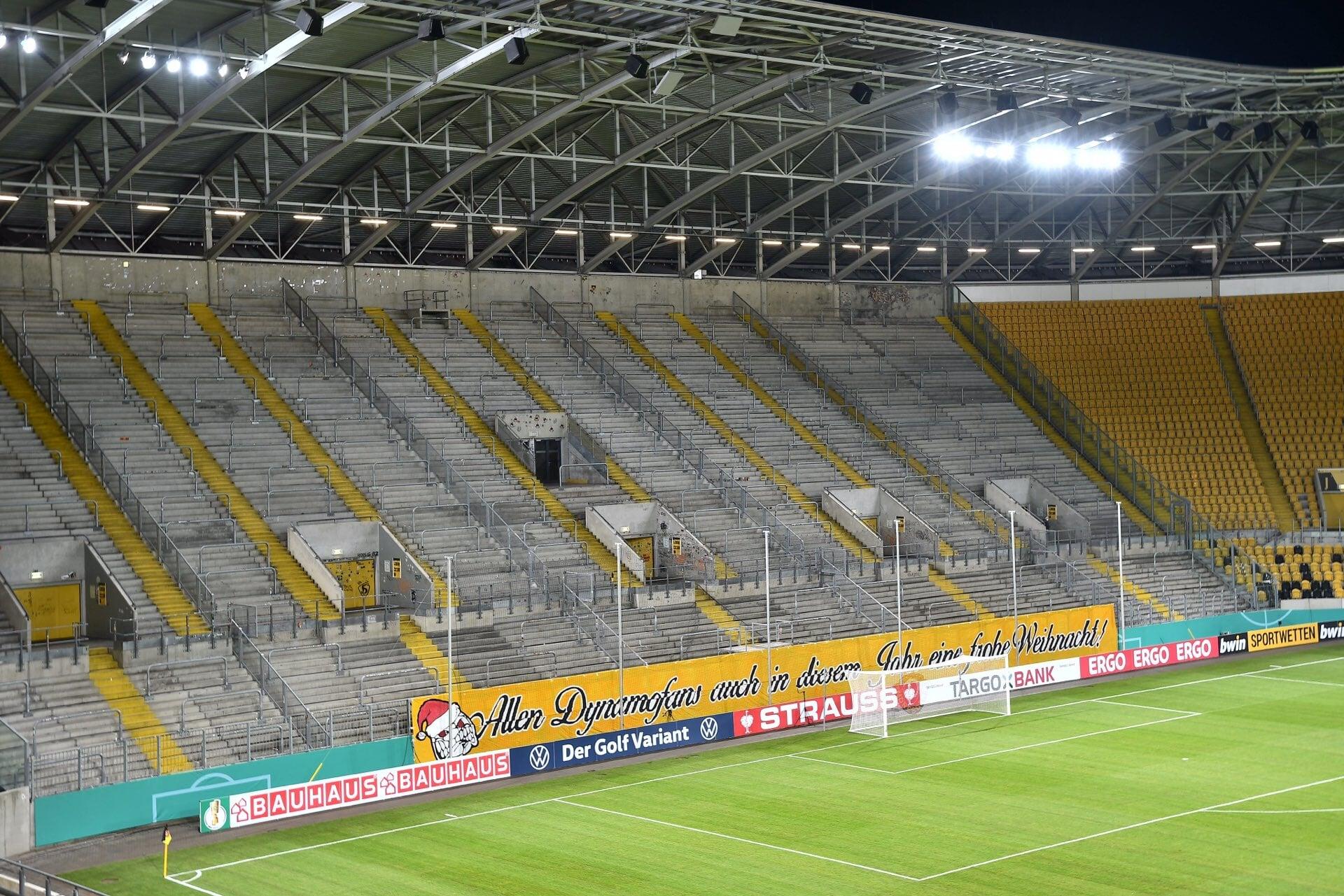 Красивая акция дрезденского «Динамо»: продали 72 тысячи билетов-призраков (в два раза больше вместимости стадиона)