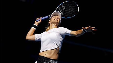 50 оттенков голубого. Australian Open в нарядах
