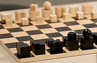 Вы никогда не играли в такие шахматы, но они классные. Ладья – куб, слон – крест, король – шар