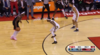 Serge Ibaka nails it from behind the arc