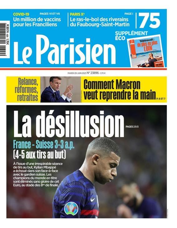 «Уничтожены!». Французские медиа разносят сборную после вылета