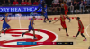 John Collins Blocks in Atlanta Hawks vs. Orlando Magic