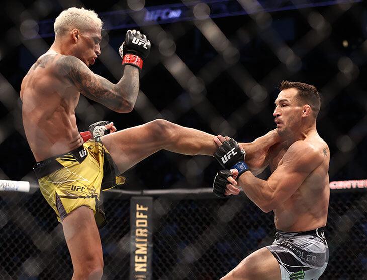 Оливейра – первый чемпион UFC после Хабиба! Пережил тяжелый нокдаун, а во втором раунде (через 19 секунд) вырубил Чендлера