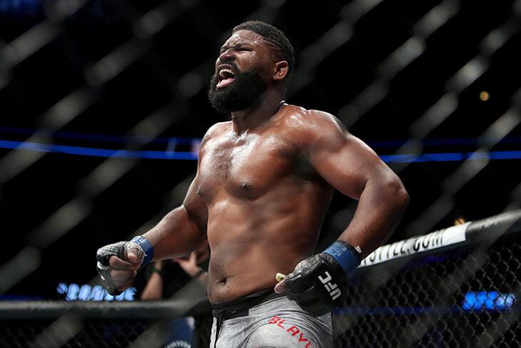 😢 Дикий бой UFC между рекордсменом по нокаутам и лучшим тяжеловесом-борцом сорвался из-за ковида. Они должны были определить претендента на титул
