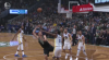 Brook Lopez finishes through contact