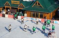 любительский хоккей, фото