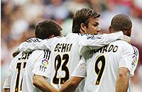 Луиш Фигу, Дэвид Бекхэм, Реал Мадрид, примера Испания, Флорентино Перес