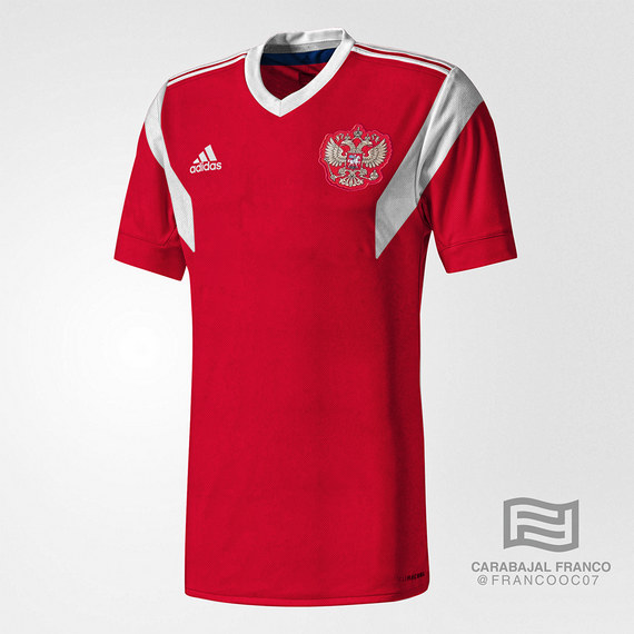 Adidas представил форму сборной РФ наЧМ